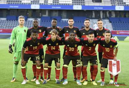 Club Brugge players on international duty