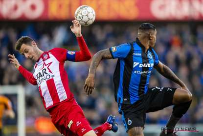Club suffers 1-2 defeat at the hands of Mouscron