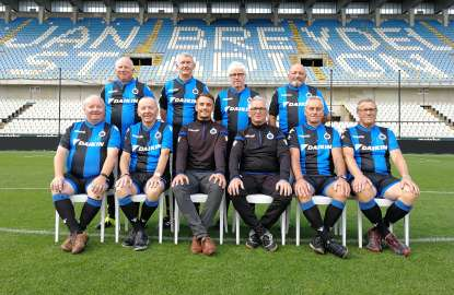 Club Brugge Legends ongeslagen op internationaal wandelvoetbal tornooi