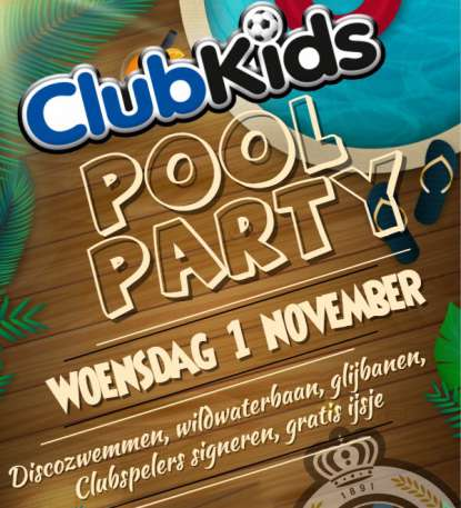 Club Kids Pool party