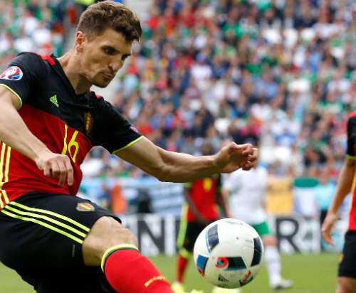 Meunier plays an important rol in first in Euro championship Red Devil's match