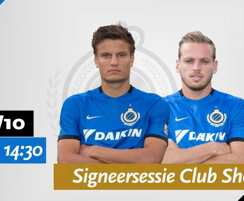 Signature session with Jelle Vossen and Laurens De Bock on Wednesday