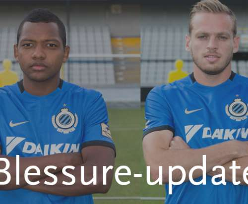 Injury update: José Izquierdo and Laurens De Bock