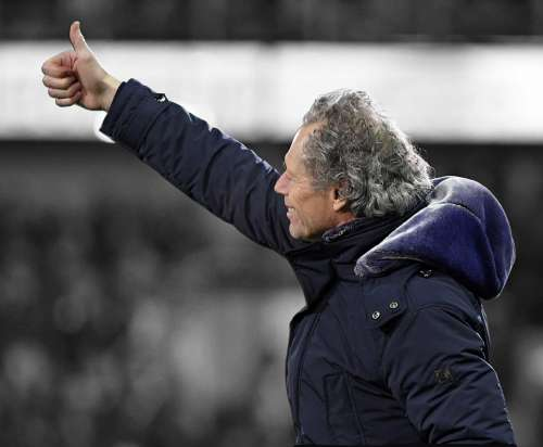 Michel Preud'homme celebrates milestone against Charleroi