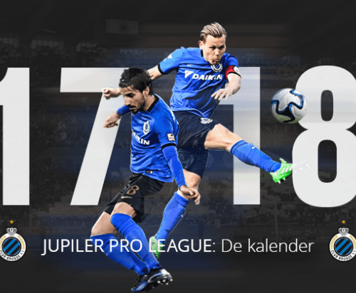 Jupiler Pro League Schedule announced