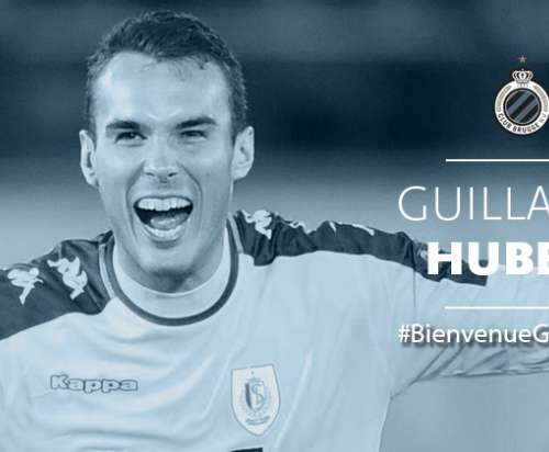 Guillaume Hubert au Club de Bruges